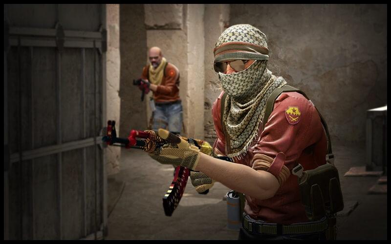 Các tuyến nhân vật phe khủng bố trong game CS GO