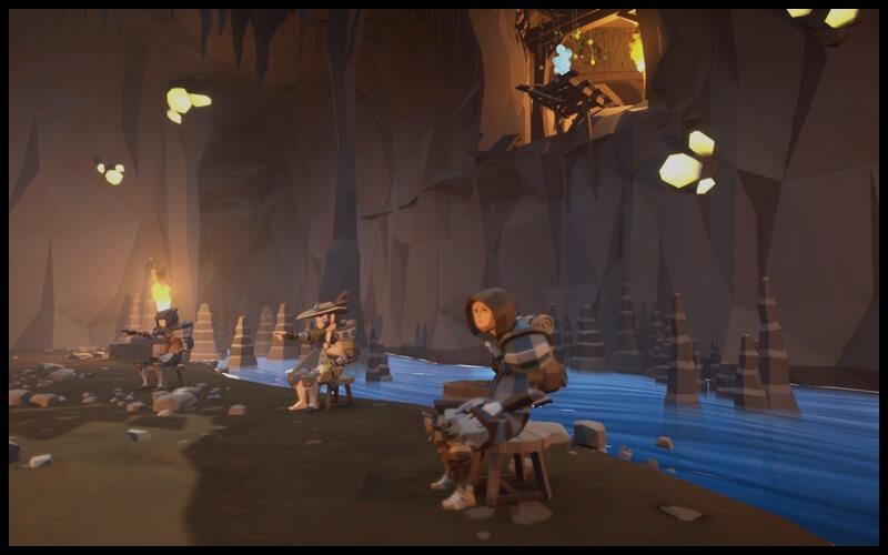 Khung cảnh trong game Agrou đa dạng hơn các tựa game cùng thể loại