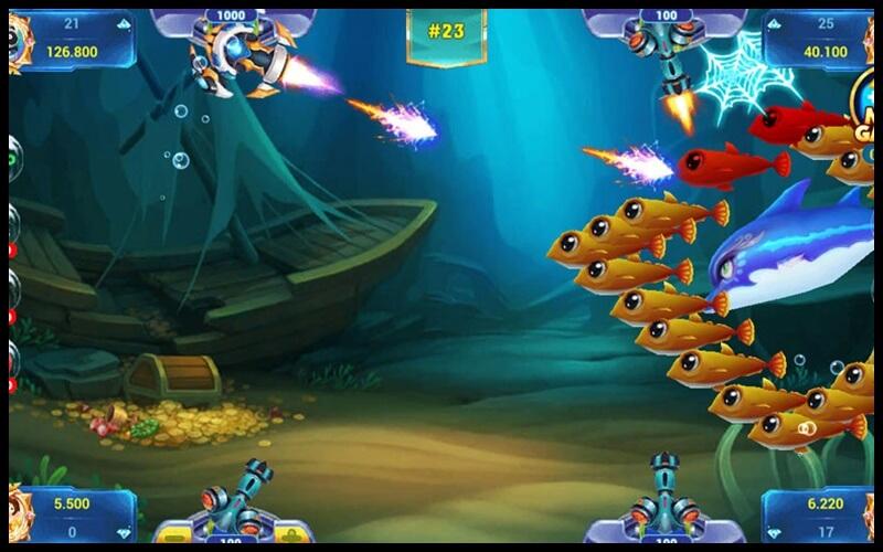 Giao diện chơi game bắn cá 86