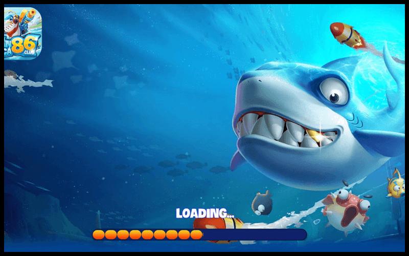 Giao diện chờ của game bắn cá 86