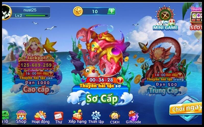 Các chế độ chơi game bắn cá h5