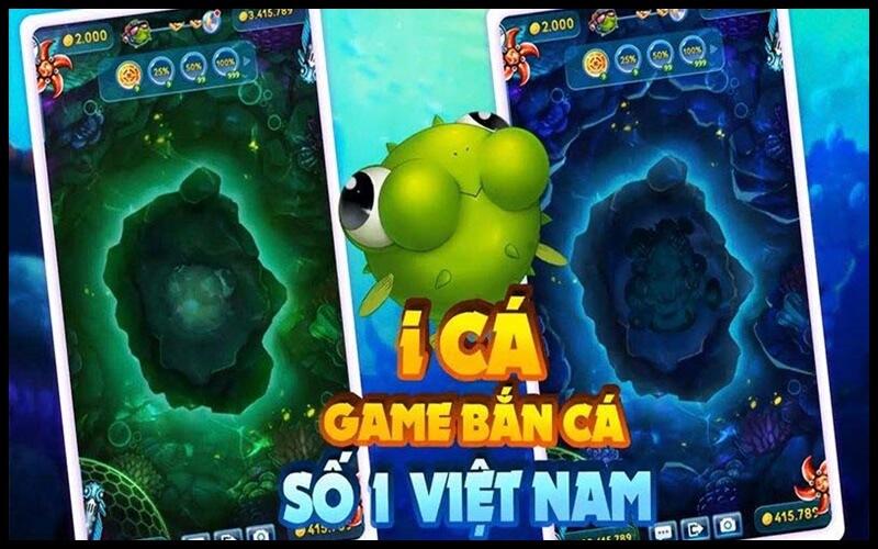 Game ica là một trong những game bắn cá hàng đầu Việt Nam
