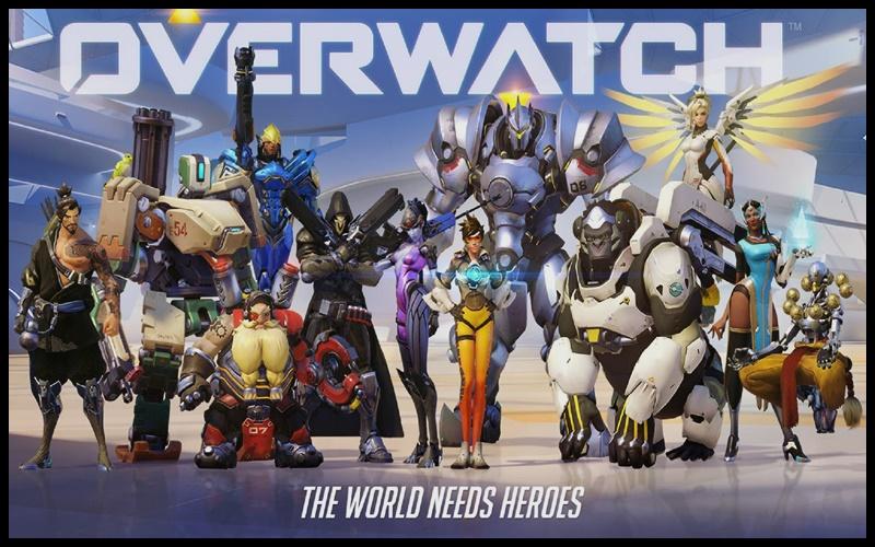 Các vị anh hùng trong game Overwatch