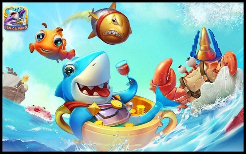 Hình ảnh 3D của game vua săn cá online
