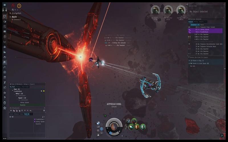 Hoàn thành các nhiệm vụ để nâng cấp phi thuyền trong game EVE online