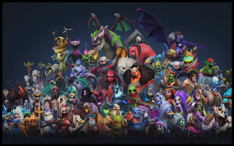 Hệ thống các Heroes đa dạng