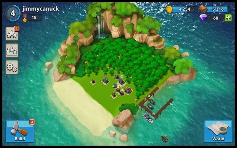 Hòn đảo của người chơi mới