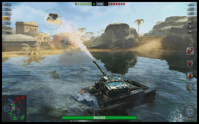 Game World of Tanks